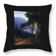 View From Livadia-1861 Throw Pillow