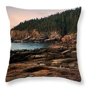 View From Ocean Drive Maine Throw Pillow