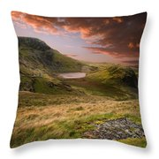 View From Snowdon Throw Pillow