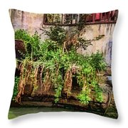 View From The Grand Canal China Throw Pillow