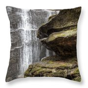 View From The Ledge Throw Pillow