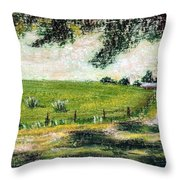 View From The Shade 2 Throw Pillow