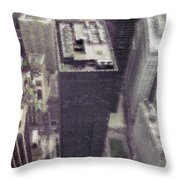 View From The World Trade Center Throw Pillow