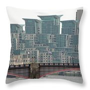 View From Westminster Bridge Throw Pillow