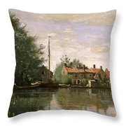 View In Holland Throw Pillow