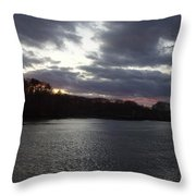 View In Maine Throw Pillow