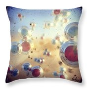 View Of H2o Throw Pillow