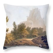 View Of The Jungle Throw Pillow