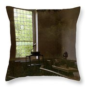View Of The Past Throw Pillow