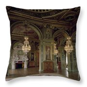 View Of The Salle Des Arts, After 1871 Photo Throw Pillow