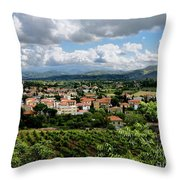 View Of Tuscany Throw Pillow