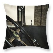 View Out The Window Throw Pillow