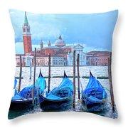 View To San Giorgio Maggiore Throw Pillow
