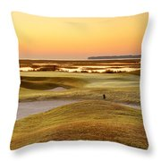 View To Spain Throw Pillow