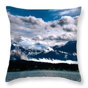 Viewing Auke Bay Throw Pillow