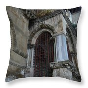 Views Of Sacrecour Throw Pillow