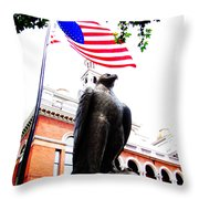 Vigilant In Sevierville Throw Pillow