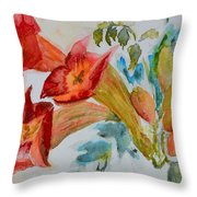 Vigne Provincial Throw Pillow