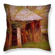 Vignette Of The Past Throw Pillow