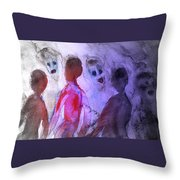 Been To The Ball And Going To The Nachspiel  Throw Pillow by Hilde Widerberg