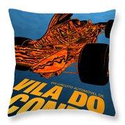 Vila Do Conde Portugal 1972 Grand Prix Throw Pillow