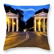 Villa Borghese Throw Pillow