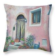 Villa In Il Borro Tuscany Throw Pillow