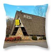 Village Inn Pizza Throw Pillow