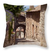 Village Lane Throw Pillow
