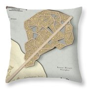 Village Of Aquila Throw Pillow