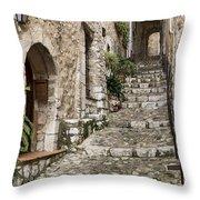 Village Of Saint Paul De Vance Throw Pillow