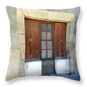 Village Square Throw Pillow