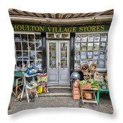 Village Stores 2 Throw Pillow