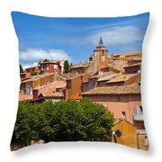 Village View Throw Pillow