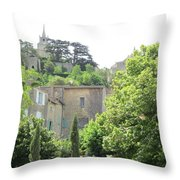 Village View Throw Pillow