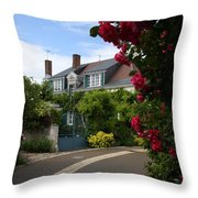 Ville De Fleur - France Throw Pillow