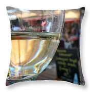 Vin Blanc Throw Pillow by France  Art