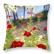 Vinca Lakeview Throw Pillow