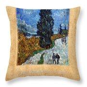 Vincent Van Gogh 4 Throw Pillow