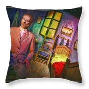Vincent Van Gogh In Bedroom At Arles Throw Pillow