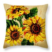 Vincent Van Gogh Would Cry  Throw Pillow