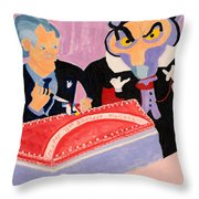 Vincent Price's Birthday Throw Pillow