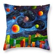 Vincent's Dream Throw Pillow