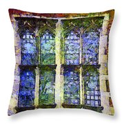 Vincent's Window Throw Pillow
