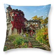 Vine Covered Throw Pillow