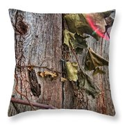 Vines And Barns Throw Pillow