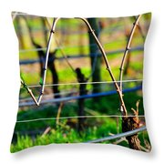Vines On Wire 22637 Throw Pillow