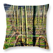 Vines Poles 22649 Throw Pillow