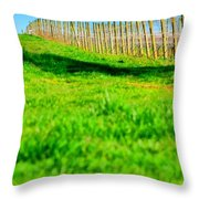 Vineyard Path 22628 Throw Pillow