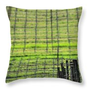 Vineyard Poles 23051 2 Throw Pillow